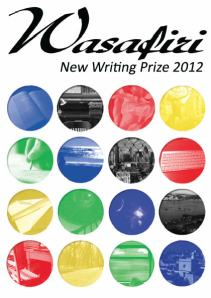 Wasafiri writing prize closing tomorrow