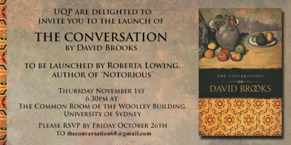 An invitation to The Conversation launch
