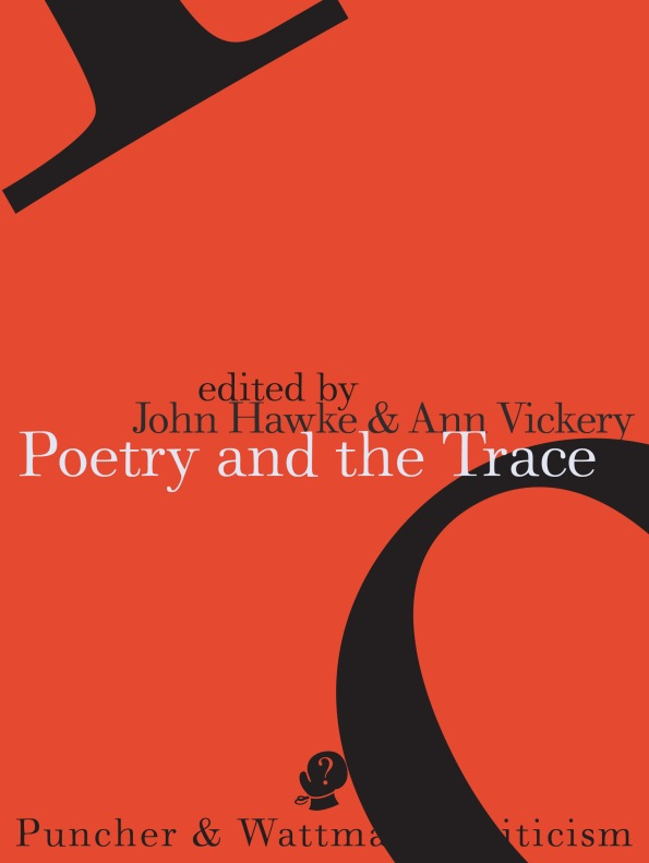 Poetry of the Trace front  COVER