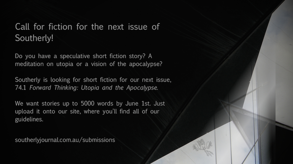 Southerly wants your Speculative Fiction!