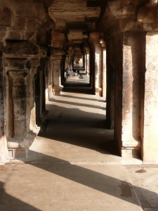 Corridors of Big Temple_Thanjavur